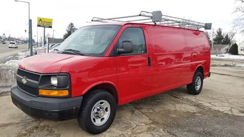 2008 Chevrolet Express Cargo for sale at Advantage Auto Sales & Imports Inc in Loves Park IL
