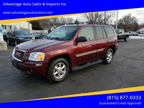 2004 GMC Envoy for sale at Advantage Auto Sales & Imports Inc in Loves Park IL