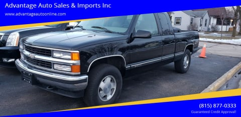 1998 Chevrolet C/K 1500 Series for sale at Advantage Auto Sales & Imports Inc in Loves Park IL