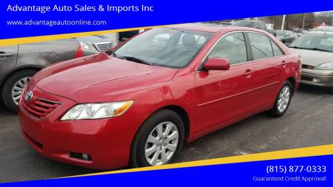 2007 Toyota Camry for sale at Advantage Auto Sales & Imports Inc in Loves Park IL