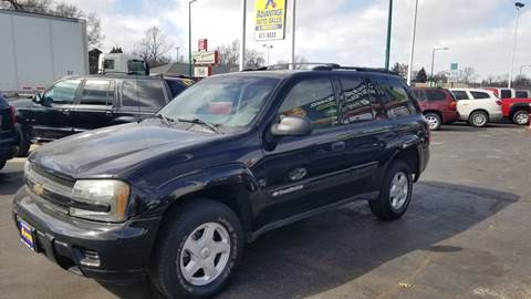 2002 Chevrolet TrailBlazer for sale at Advantage Auto Sales & Imports Inc in Loves Park IL