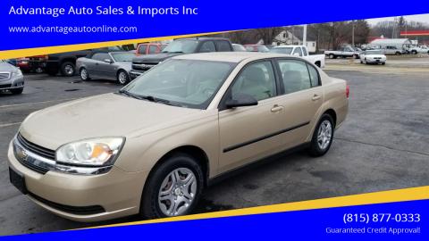 2005 Chevrolet Malibu for sale at Advantage Auto Sales & Imports Inc in Loves Park IL