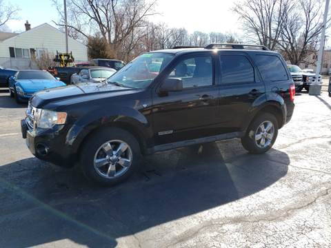2008 Ford Escape for sale at Advantage Auto Sales & Imports Inc in Loves Park IL