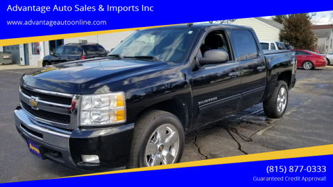 2011 Chevrolet Silverado 1500 for sale at Advantage Auto Sales & Imports Inc in Loves Park IL