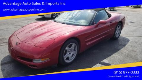 1999 Chevrolet Corvette for sale at Advantage Auto Sales & Imports Inc in Loves Park IL