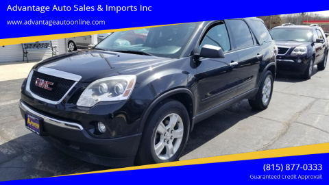 2011 GMC Acadia for sale at Advantage Auto Sales & Imports Inc in Loves Park IL
