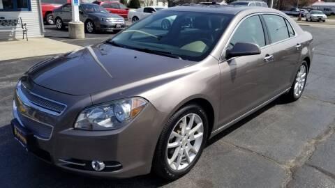 2011 Chevrolet Malibu for sale at Advantage Auto Sales & Imports Inc in Loves Park IL