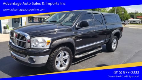 2008 Dodge Ram Pickup 1500 for sale at Advantage Auto Sales & Imports Inc in Loves Park IL
