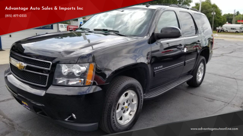 2011 Chevrolet Tahoe for sale at Advantage Auto Sales & Imports Inc in Loves Park IL