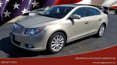 2011 Buick LaCrosse for sale at Advantage Auto Sales & Imports Inc in Loves Park IL