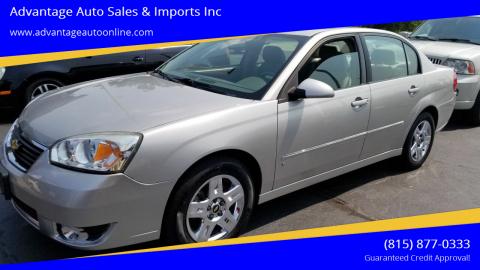 2007 Chevrolet Malibu for sale at Advantage Auto Sales & Imports Inc in Loves Park IL