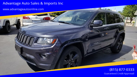 2014 Jeep Grand Cherokee for sale at Advantage Auto Sales & Imports Inc in Loves Park IL