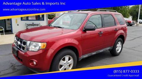 2012 Ford Escape for sale at Advantage Auto Sales & Imports Inc in Loves Park IL