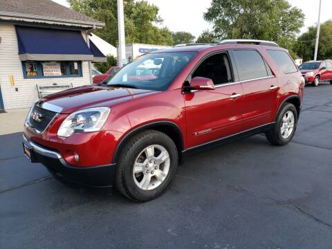 2007 GMC Acadia for sale at Advantage Auto Sales & Imports Inc in Loves Park IL