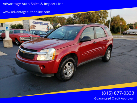 2006 Chevrolet Equinox for sale at Advantage Auto Sales & Imports Inc in Loves Park IL