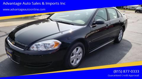 2009 Chevrolet Impala for sale at Advantage Auto Sales & Imports Inc in Loves Park IL