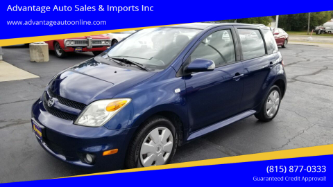 2006 Scion xA for sale at Advantage Auto Sales & Imports Inc in Loves Park IL