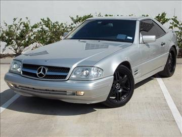 1998 Mercedes-Benz SL-Class for sale in Houston, TX