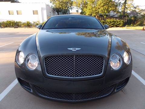 2008 Bentley Continental GT Speed for sale in Houston, TX