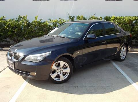 BMW 5 Series For Sale in Houston, TX - UPTOWN MOTOR CARS