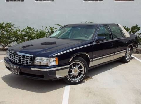 1999 Cadillac DeVille for sale in Houston, TX