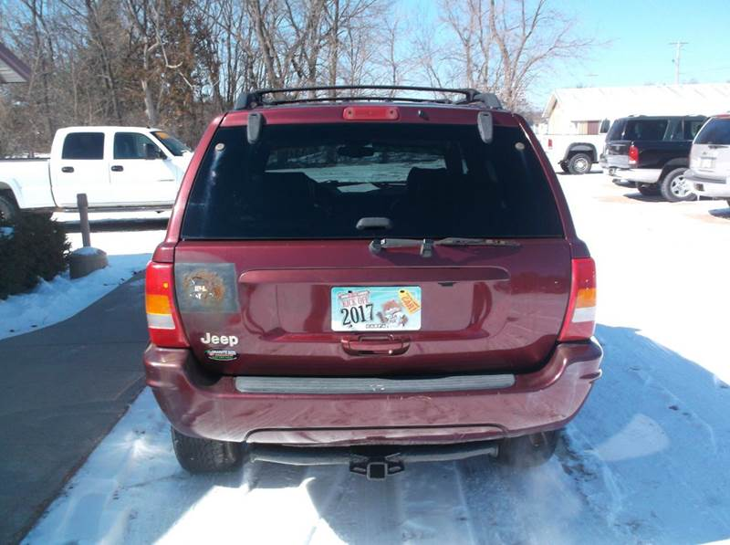 1999 Jeep Grand Cherokee 4dr Limited 4WD SUV - Redgranite WI