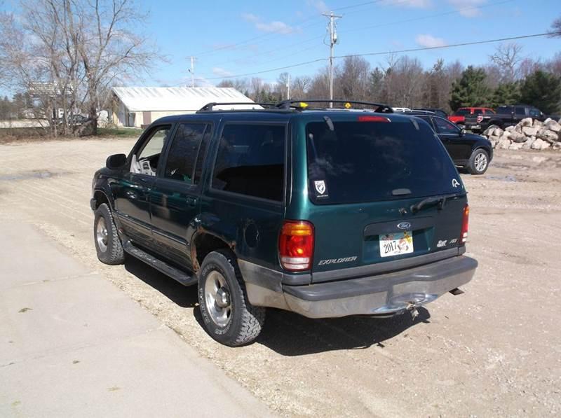 1999 Ford Explorer 4dr XLT 4WD SUV - Redgranite WI