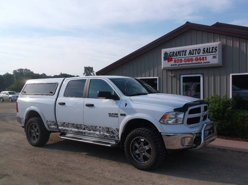 2015 RAM Ram Pickup 1500 4x4 Outdoorsman 4dr Crew Cab 6.3 ft. SB Pickup - Redgranite WI