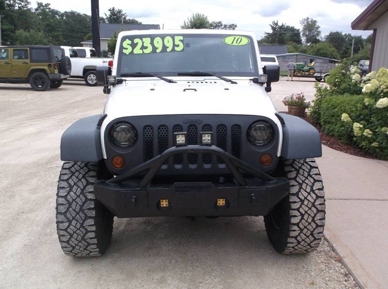 2010 Jeep Wrangler Unlimited 4x4 Rubicon 4dr SUV - Redgranite WI