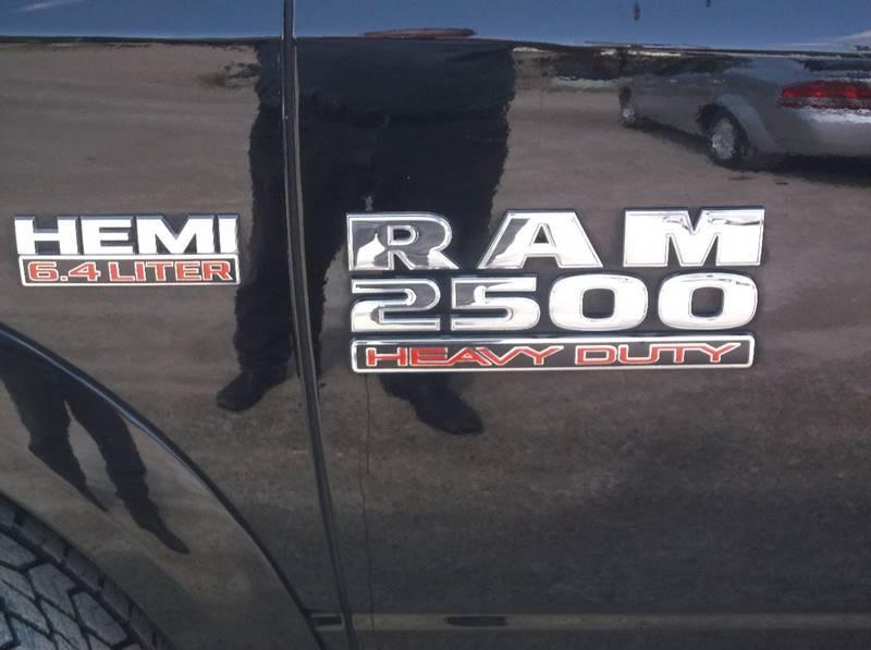 2014 RAM Ram Pickup 2500 4x4 Laramie 4dr Crew Cab 6.3 ft. SB Pickup - Redgranite WI