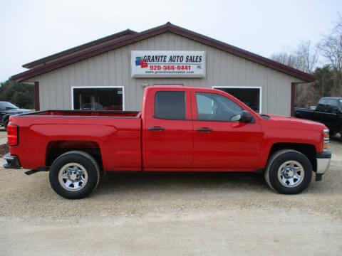 2014 Chevrolet Silverado 1500 Work Truck for sale at Granite Auto Sales in Redgranite WI