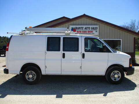2010 Chevrolet Express Cargo 2500 for sale at Granite Auto Sales in Redgranite WI