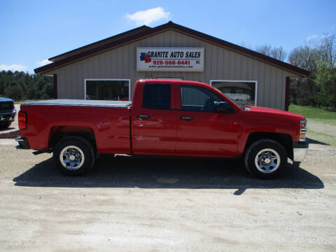 2015 Chevrolet Silverado 1500 for sale at Granite Auto Sales in Redgranite WI