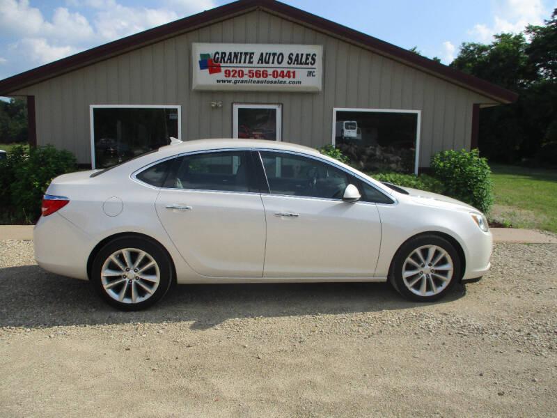 2014 Buick Verano for sale at Granite Auto Sales in Redgranite WI