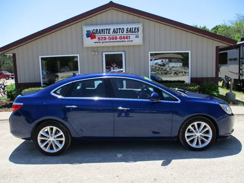 2013 Buick Verano for sale at Granite Auto Sales in Redgranite WI