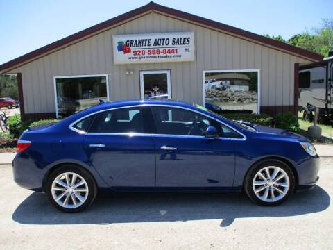 2013 Buick Verano for sale at Granite Auto Sales in Redgranite WI