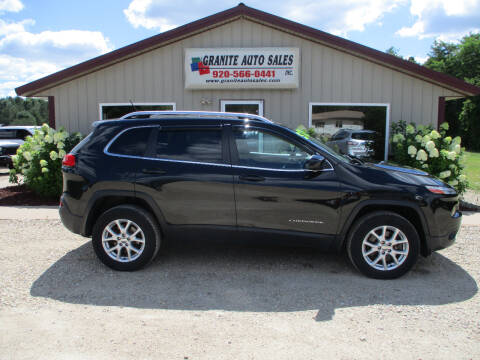 2014 Jeep Cherokee for sale at Granite Auto Sales in Redgranite WI