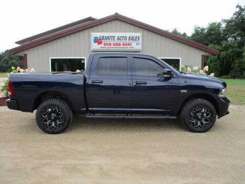 2013 RAM Ram Pickup 1500 for sale at Granite Auto Sales in Redgranite WI