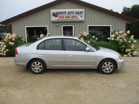2001 Honda Civic for sale at Granite Auto Sales in Redgranite WI