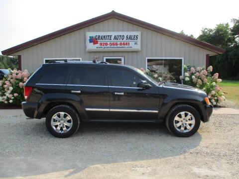 2010 Jeep Grand Cherokee for sale at Granite Auto Sales in Redgranite WI