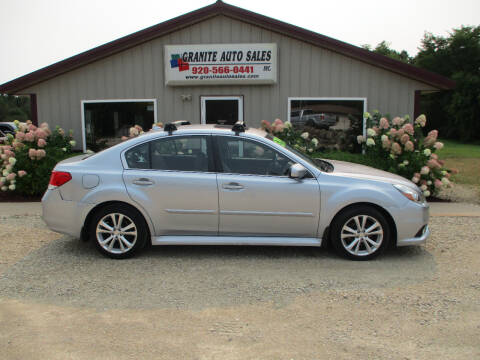 2013 Subaru Legacy for sale at Granite Auto Sales in Redgranite WI