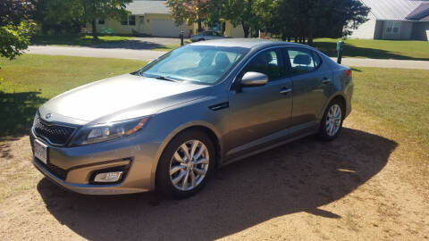 2014 Kia Optima for sale at Granite Auto Sales in Redgranite WI