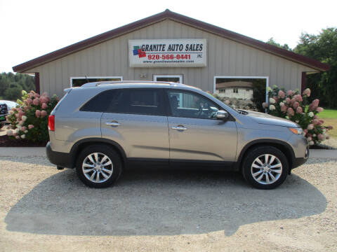 2011 Kia Sorento for sale at Granite Auto Sales in Redgranite WI