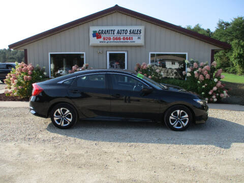 2016 Honda Civic for sale at Granite Auto Sales in Redgranite WI