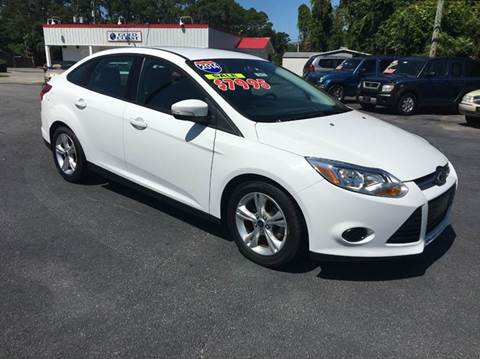 2014 Ford Focus for sale at GOLD COAST IMPORT OUTLET in St Simons GA