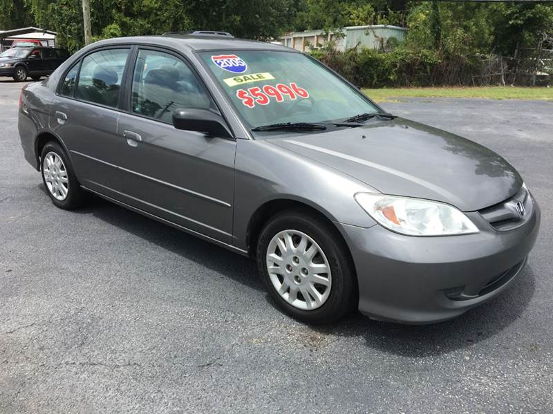 2005 Honda Civic for sale at GOLD COAST IMPORT OUTLET in St Simons GA