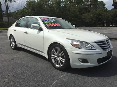 2010 Hyundai Genesis for sale at GOLD COAST IMPORT OUTLET in St Simons GA