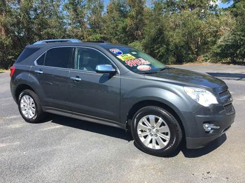 2011 Chevrolet Equinox for sale at GOLD COAST IMPORT OUTLET in St Simons GA