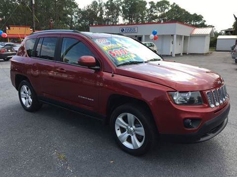 2014 Jeep Compass for sale at GOLD COAST IMPORT OUTLET in St Simons GA