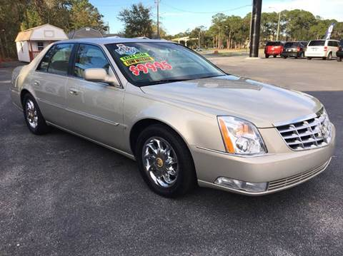 2007 Cadillac DTS for sale at GOLD COAST IMPORT OUTLET in St Simons GA